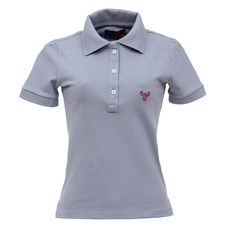 Camisa Gola Polo Feminina Cinza Smith Brothers 27540