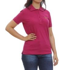 Camisa Gola Polo Feminina Pink Tassa 29929