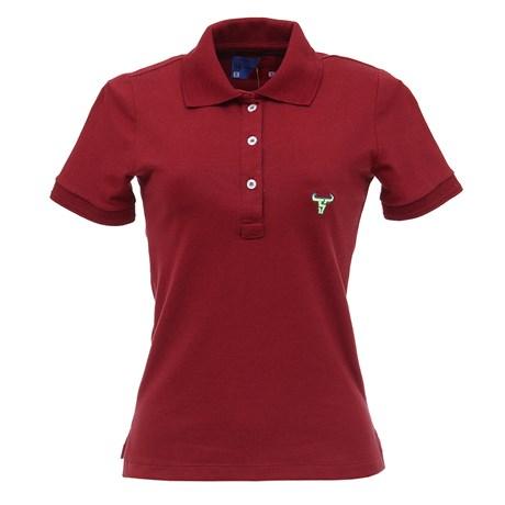 Camisa Gola Polo Feminina Vinho Smith Brothers 27539