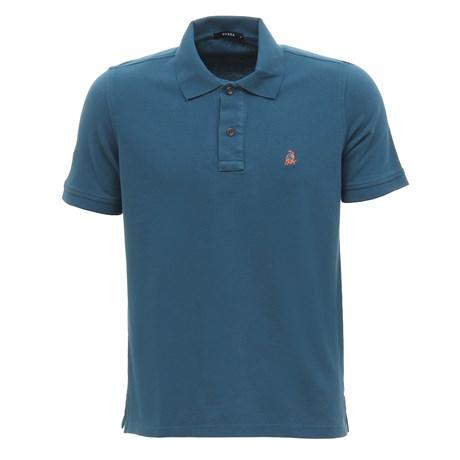 Camisa Gola Polo Masculina Azul Tassa 29927