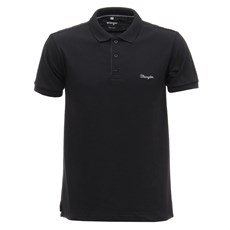 Camisa Gola Polo Masculina Preta Wrangler 29281