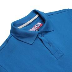 Camisa Gola Polo Masculina Rodeo Western Azul 24626