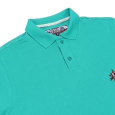 Camisa Gola Polo Masculina Verde Rodeo Western 22614