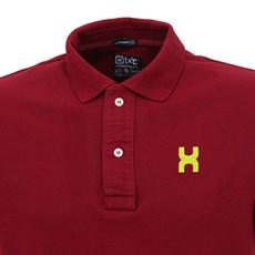 Camisa Gola Polo Masculina Vinho TXC 29329