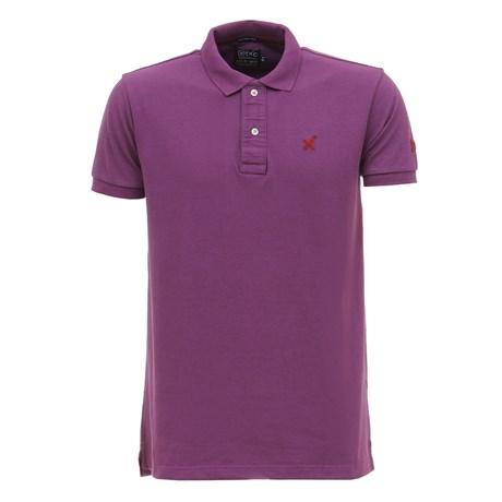 Camisa Gola Polo Roxa Masculina TXC 27983