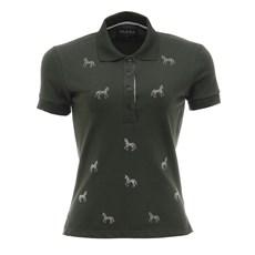 Camisa Gola Polo Tassa Feminina Verde 26791