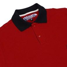 Camisa Gola Polo Vermelha Masculina Rodeo Western 22627