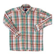 Camisa Infantil Manga Longa Xadrez Verde Smith Brothers 29250