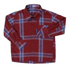 Camisa Infantil Xadrez Manga Longa - Rodeo Western 18177