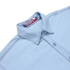 Camisa Jeans Delavê Manga Longa Masculina Rodeo Western 24691