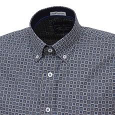 Camisa Manga Curta Estampada Masculina Austin Western 26653