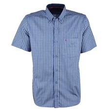 Camisa Manga Curta Masculina Azul Smith Brothers 25591
