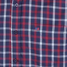 Camisa Manga Curta Masculina Xadrez Azul Smith Brothers 25585
