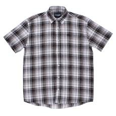 Camisa Manga Curta Xadrez Original Wrangler Marrom 23989