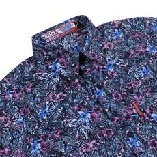 Camisa Manga Longa Feminina Floral Rosa Rodeo Western 26347