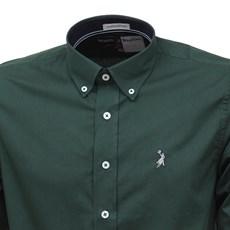 Camisa Manga Longa Masculina Verde Austin Western 26977
