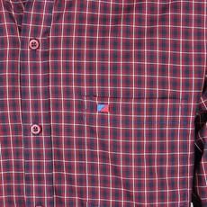 Camisa Manga Longa Masculina Xadrez Vermelho Smith Brothers 25597