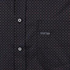 Camisa Manga Longa Preta Masculina Original Gringa's 25675