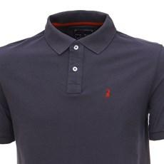 Camisa Masculina Gola Polo Cinza Escuro Austin Western 28724