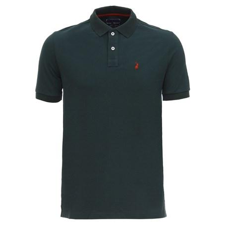 Camisa Masculina Gola Polo Verde Austin Western 28727
