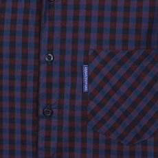 Camisa Masculina Manga Curta Xadrez Azul Rodeo Western 25723