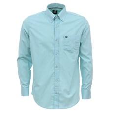 Camisa Masculina Manga Longa Verde Tuff 27474