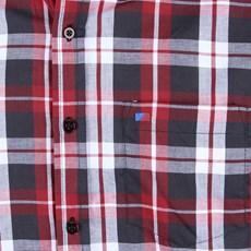 Camisa Masculina Smith Brothers Manga Longa Xadrez Vermelho 25602