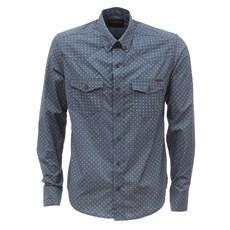 Camisa Masculina Tassa Manga Longa Azul 26793