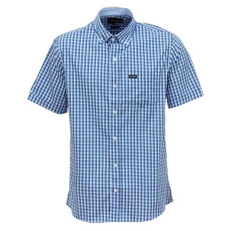 Camisa Masculina Tricoline Azul Original Wrangler 29494