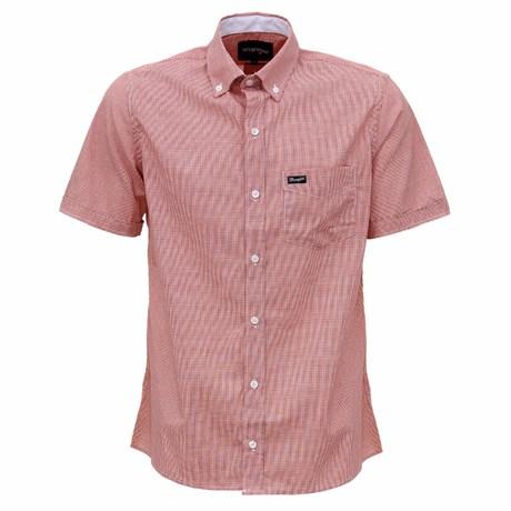 Camisa Masculina Tricoline Vermelha Original Wrangler 29495