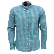 Camisa Masculina Verde Xadrez Manga Longa Austin Western 29200