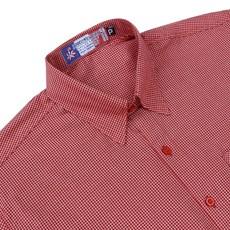 Camisa Masculina Vermelha Estampada Rodeo Western 23328