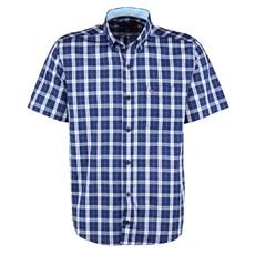 Camisa Masculina Xadrez Azul Manga Curta Smith Brothers 25592