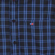 Camisa Masculina Xadrez Azul Manga Longa Smith Brothers 25584