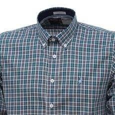 Camisa Masculina Xadrez Verde Manga Longa Austin Western 27283