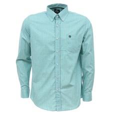 Camisa Masculina Xadrez Verde Manga Longa Tuff 27463