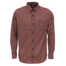 Camisa Masculina Xadrez Vermelho Manga Longa Tuff 27931