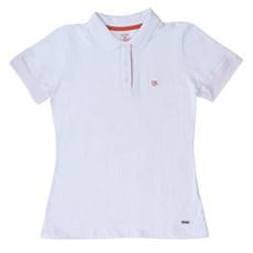 Camisa Polo Feminina Branca Wrangler 19776 ... 957df72d60859