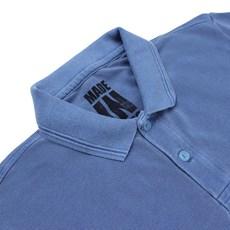 Camisa Polo Made in Mato Original Masculina Stone Azul 24005