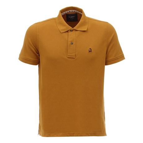 Camisa Polo Masculina Amarela Tassa 26789
