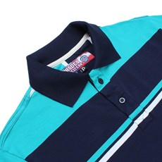 Camisa Polo Masculina Listrada Verde Rodeo Western 24713