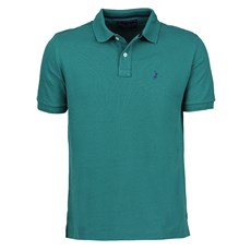 Camisa Polo Masculina Verde Austin Western 24996