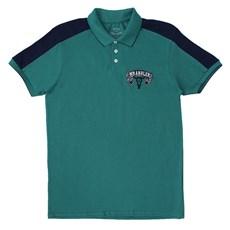 Camisa Polo Masculina Verde Wrangler 19952 ... 02776635b5b