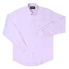 Camisa Rosa Manga Longa Masculina Fast Back 20295