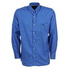 Camisa Tuff Masculina Manga Longa Azul Original 26008
