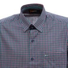 Camisa Verde Masculina Manga Curta Xadrez Fast Back 29460