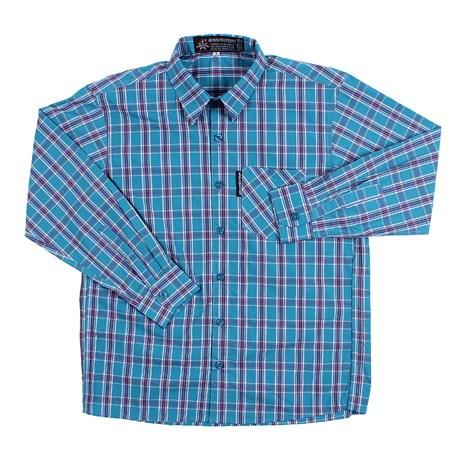 Camisa Xadrez Azul Infantil Masculina Rodeo Western 26367