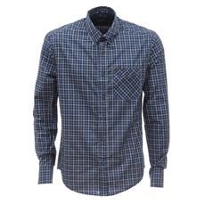 Camisa Xadrez Azul Tassa Masculina 26794