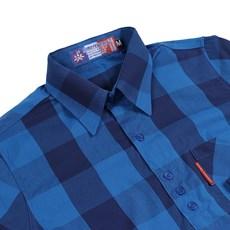 Camisa Xadrez Feminina Azul Rodeo Western 26361