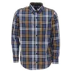 Camisa Xadrez Masculina Manga Longa Azul Tuff 27932